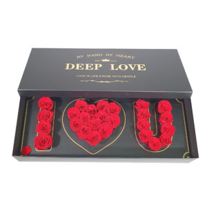 Luxury love box – Rosas preservadas